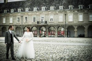 A Dublin Wedding Photograph in The Grounds Of The Royal Hospital Kilmainham