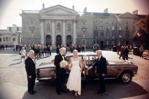 Photo of a Dublin Wedding at Trinity College Chapel