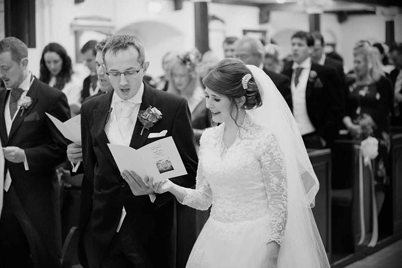 Wedding Photo at St. Ann's Church, Dawson Street in Dublin