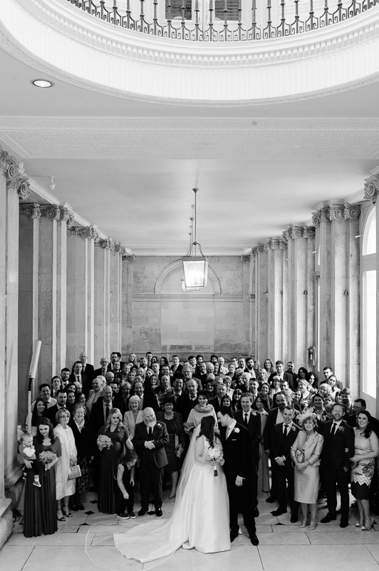 Wedding Photo in Dublin City Hall