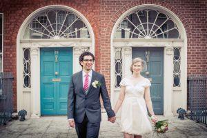Wedding Photograph in Georgian Dublin