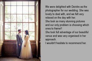Wedding Photography at the Royal Hospital Kilmainham in Dublin