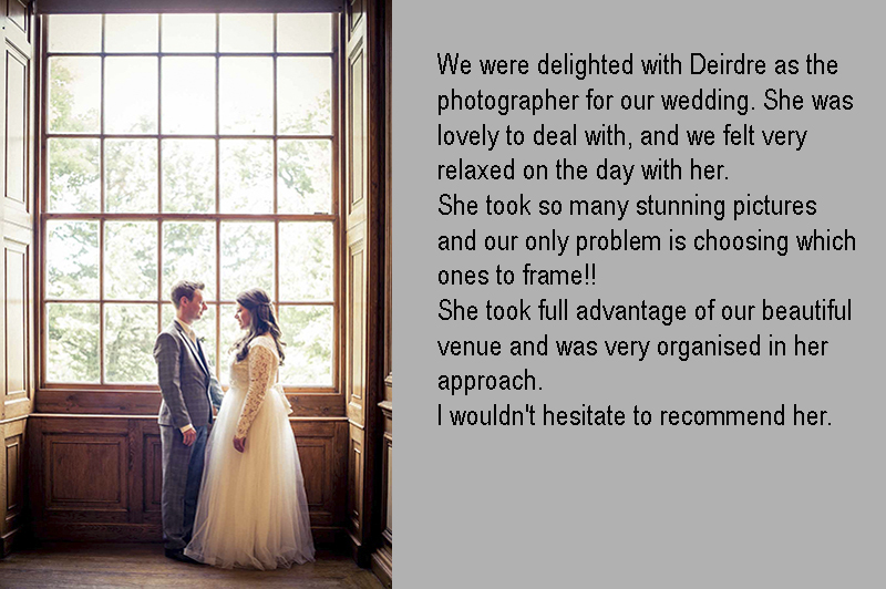 Wedding Photography at the Royal Hospital Kilmainham in Dublin