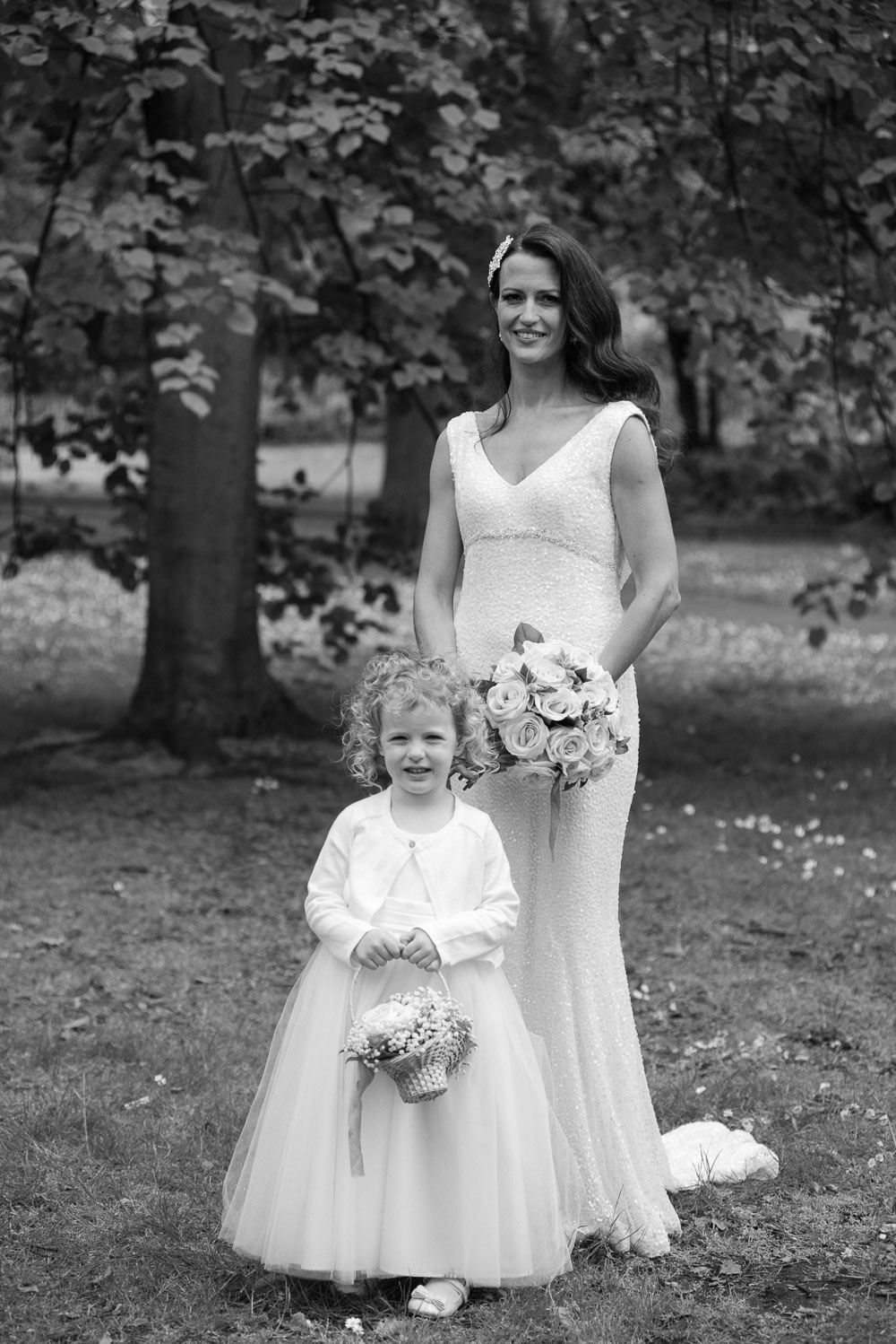 Wedding photography in St. Stephen's Green in Dublin