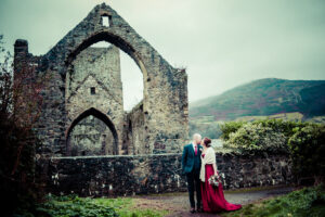 Christmas Wedding Photographs in Carlingford