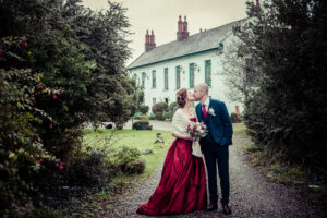 Micro wedding at Ghan House in Carlingford