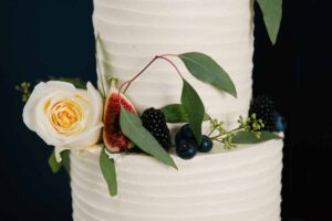 No. 25 Fitzwilliam Place wedding cake