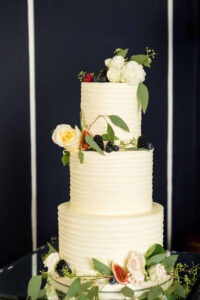 Wedding Cake at No 25 Fitzwilliam Place