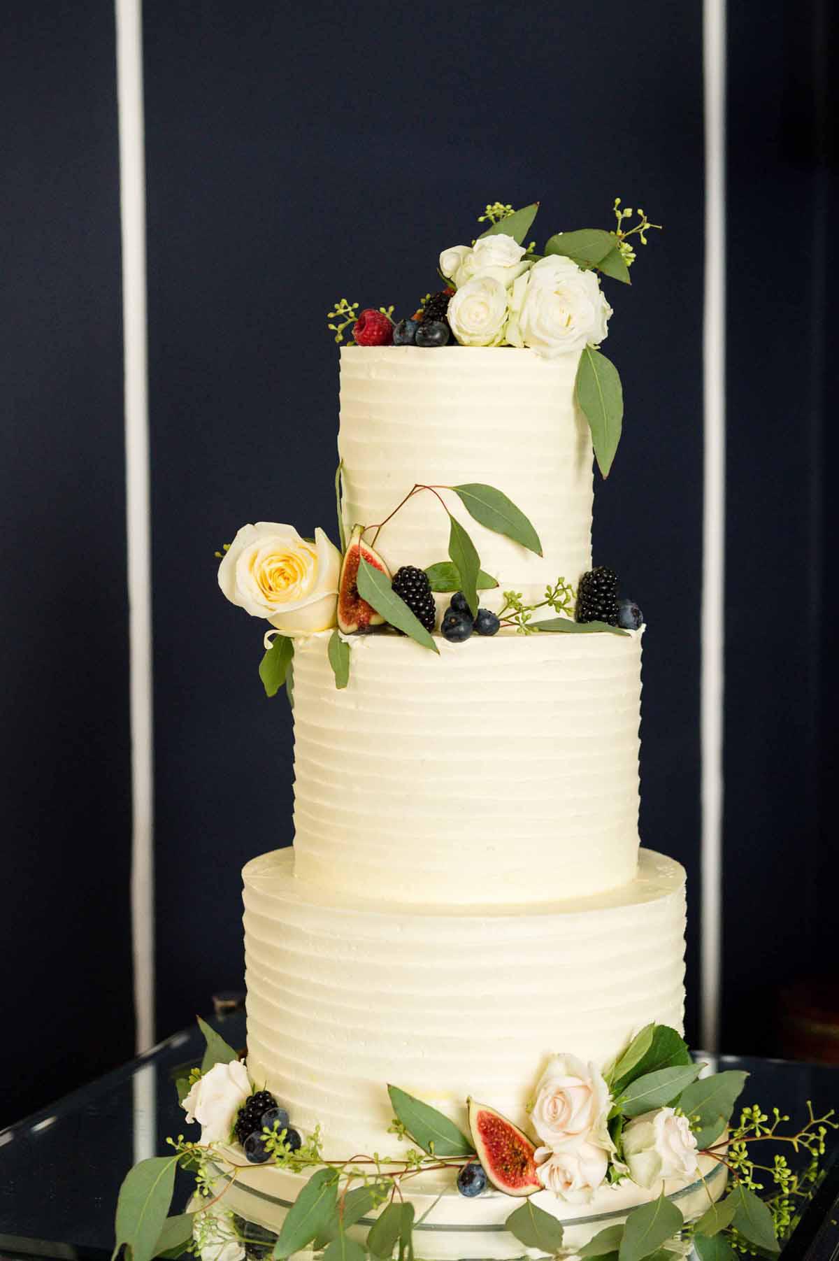 Wedding Cake at No 25 Fitzwilliam Place