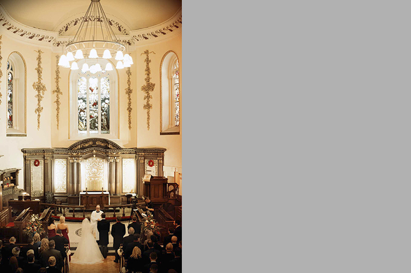 St Ann's Church on Dawson Street Wedding Photography
