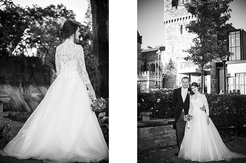 Wedding Photography at Clontarf Castle