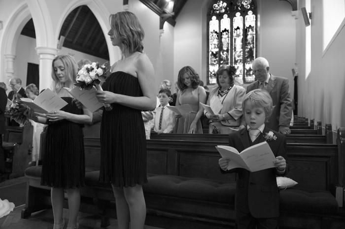 Wedding-photo-at-Clontarf-Scots-Presbyterian-Church
