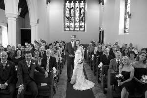 Wedding-picture-at-Clontarf-Scots-Presbyterian-Church
