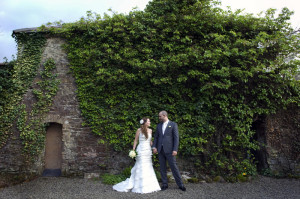Wedding-portrait-in-the-grounds-of-Leixlip-Manor