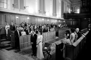Trinity College Chapel Wedding Photograph