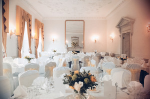 Wedding reception photo at The Hibernian Club