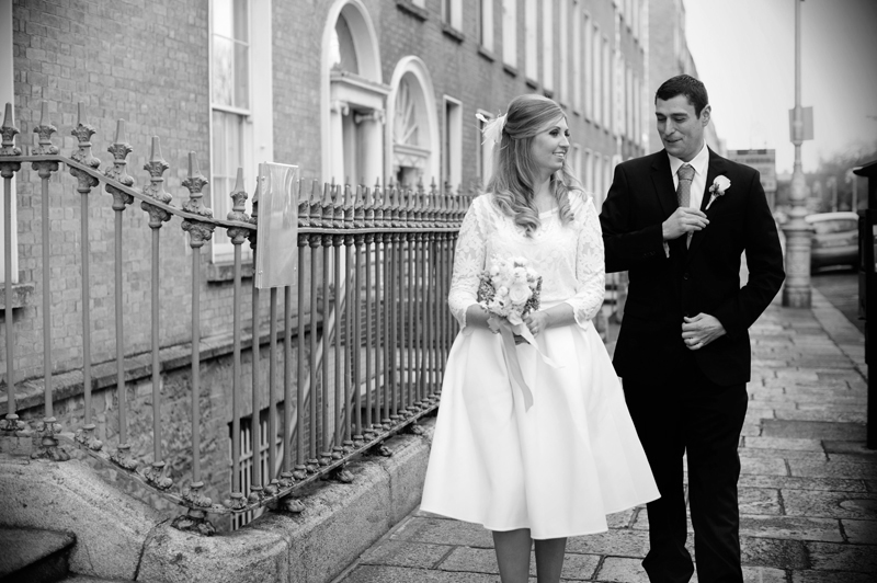 Newlywed Couple in Dublin