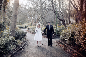 Wedding Photograph of the bride and groom in Dublin