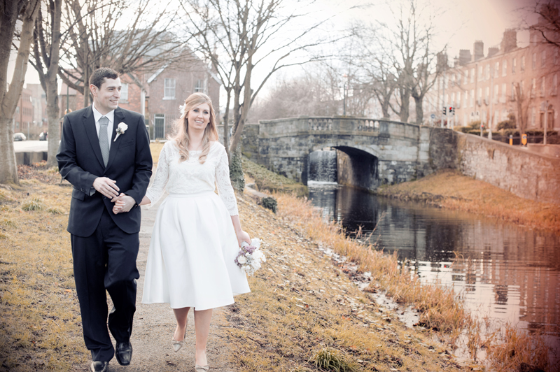 Dublin Registry Office Wedding Photo
