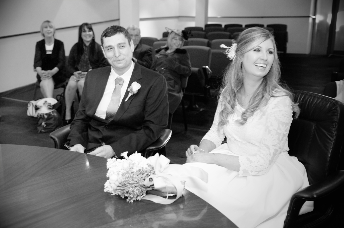 Registry Office Wedding Photography