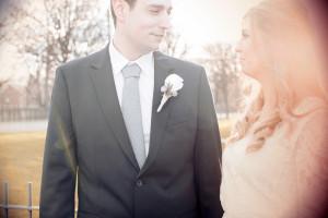 Dublin Registry Office Wedding Portrait