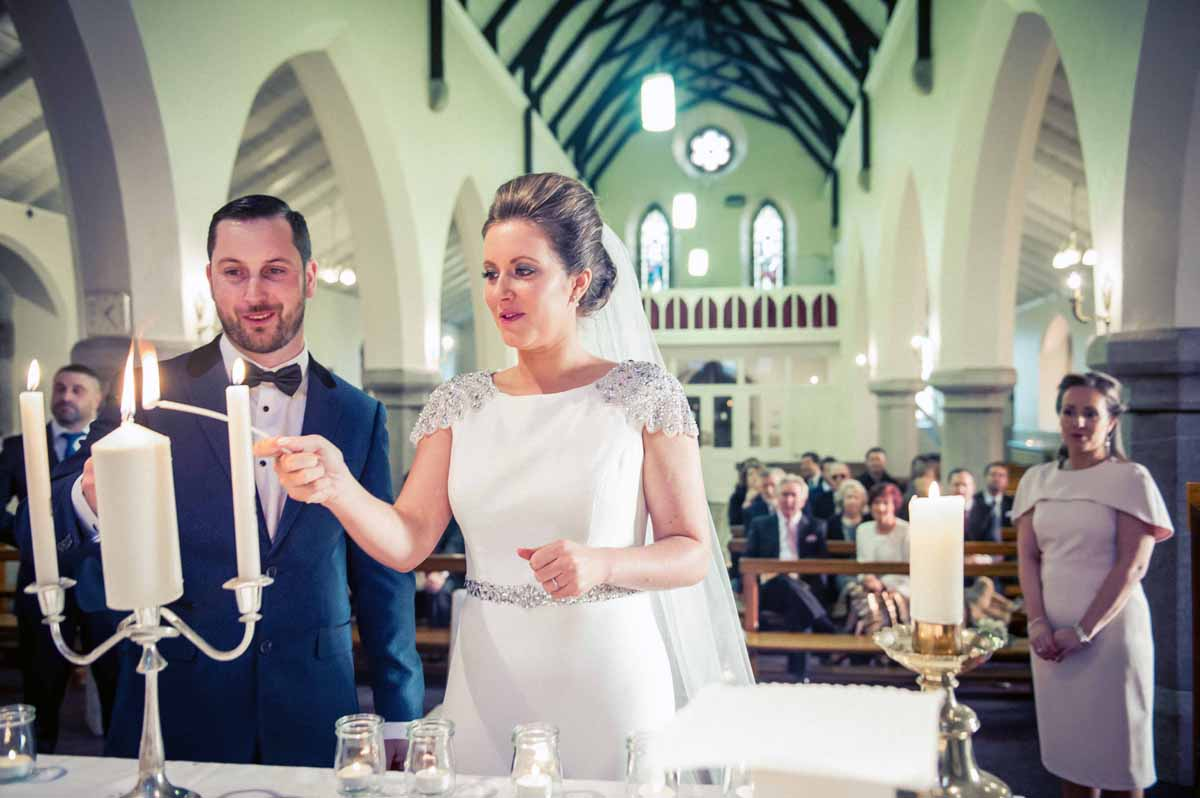 Wicklow Church Wedding Photograph