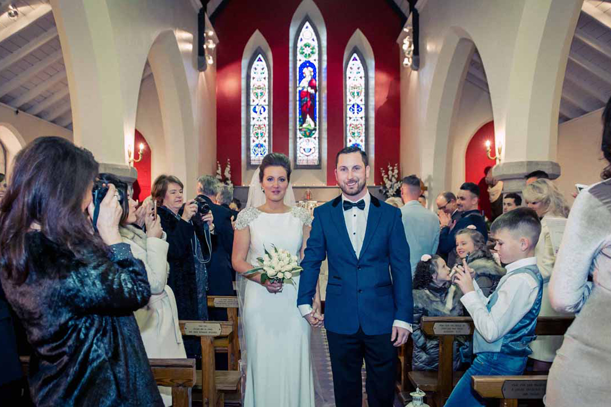 Irish Church Wedding Photos