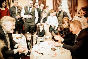 A Finnstown House Hotel Wedding Reception Photography