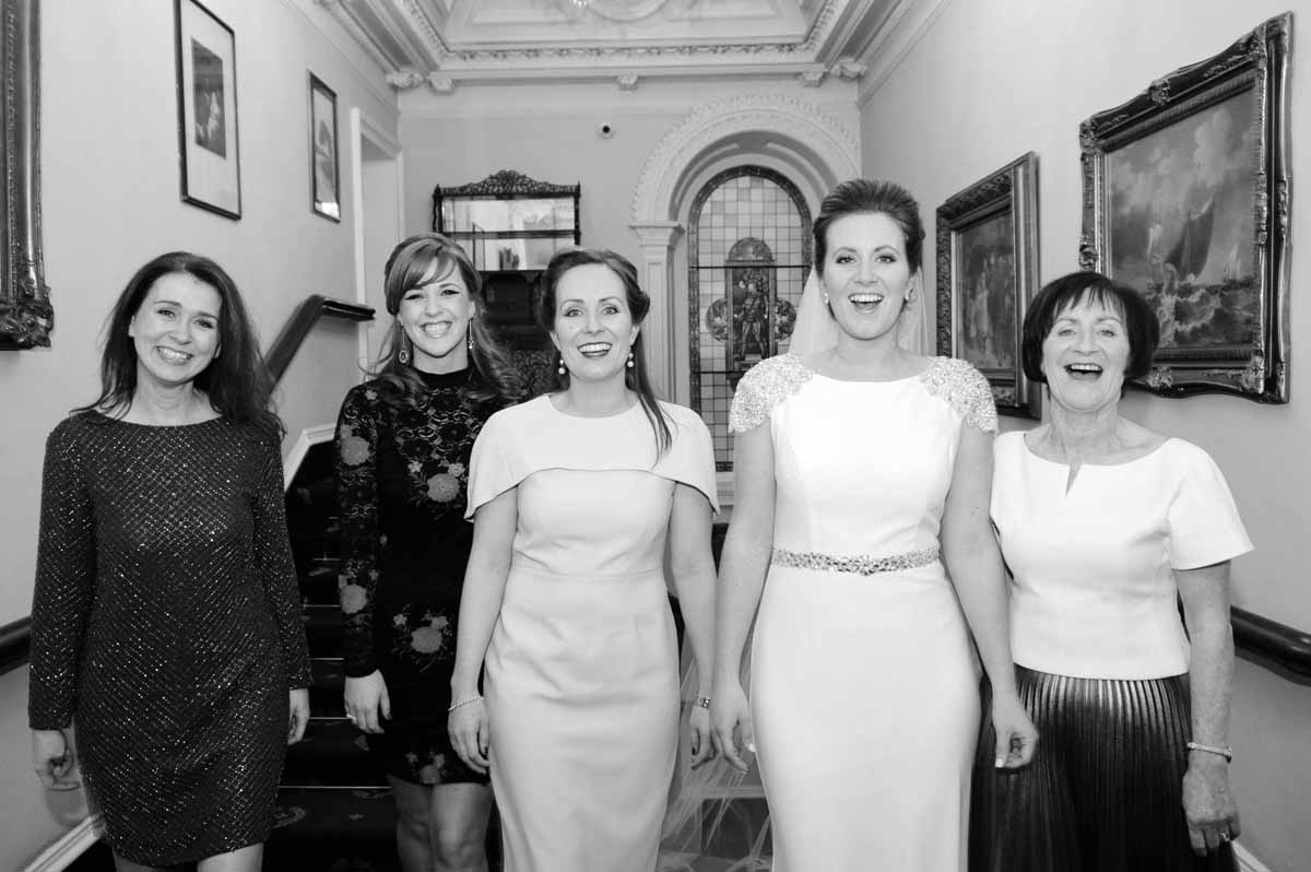 Finnstown House Hotel Wedding Reception Photograph