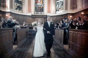 Trinity College Chapel Dublin Wedding Photograph