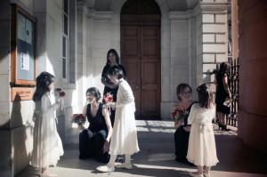Trinity College Wedding Photo