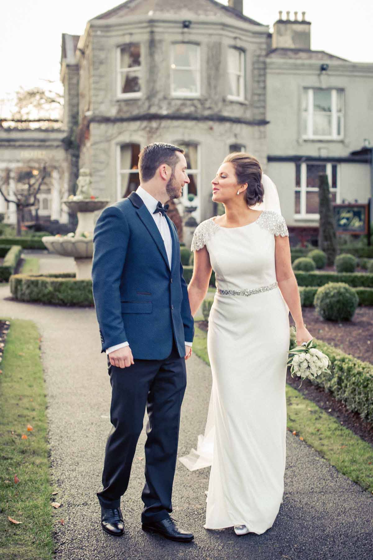 Wedding Photography in the grounds of Finnstown Country House Hotel