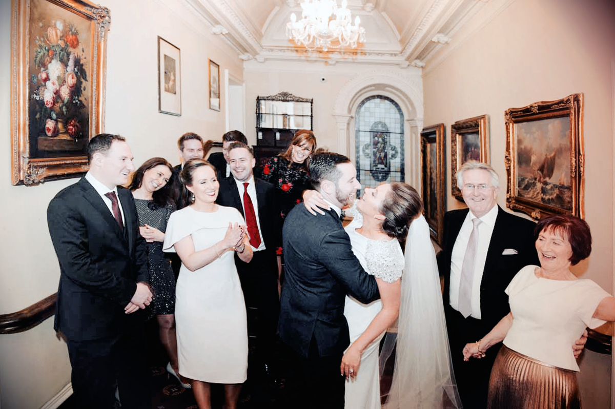 Wedding Reception Photo at Finnstown House Hotel