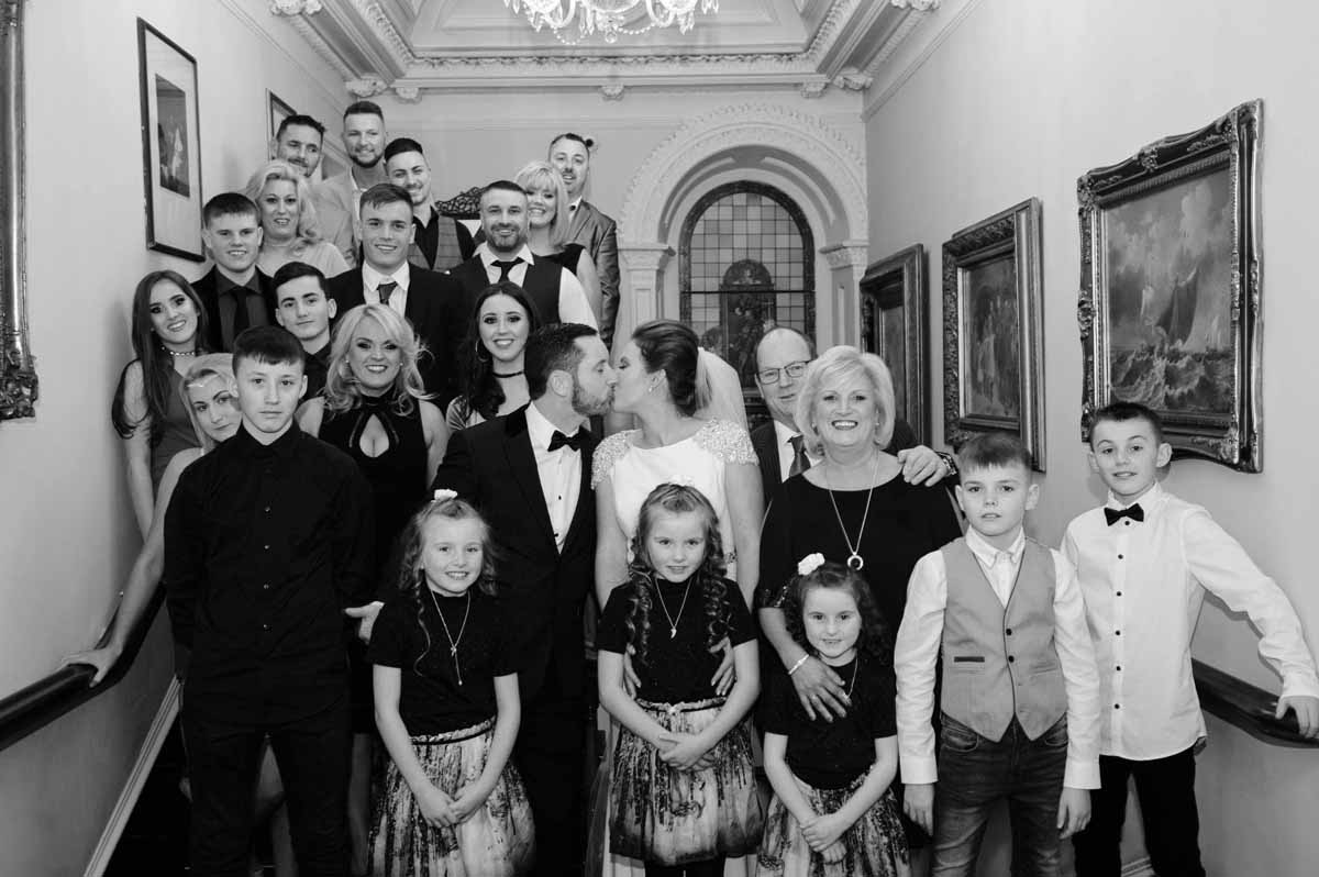 Wedding Reception Photo at Finnstown House