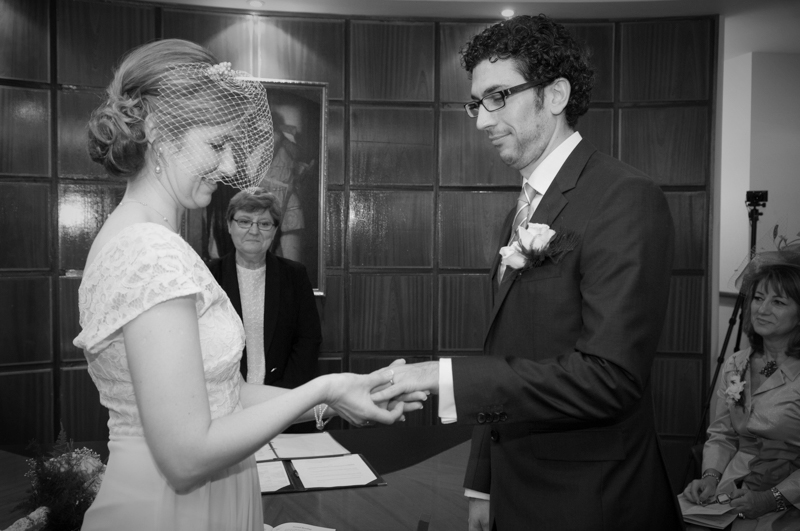 Civil Wedding Ceremony Photo
