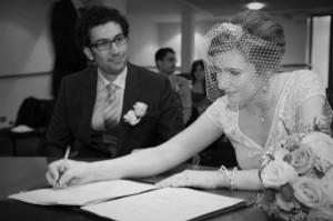 Civil Wedding Cermony Photograph in Dublin