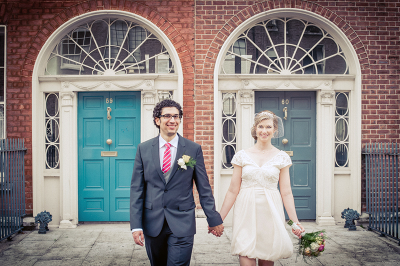 Dublin City Center Wedding Photo