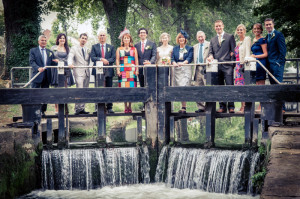 Dublin City Center Wedding Photograph