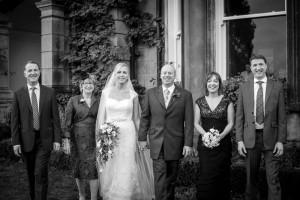 Wedding Portrait at Tinakilly House