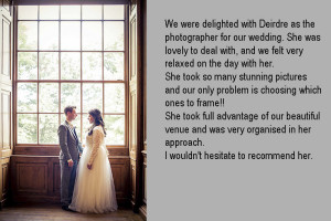 Wedding Photograph at IMMA