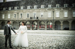 Wedding Photo in grounds of IMMA