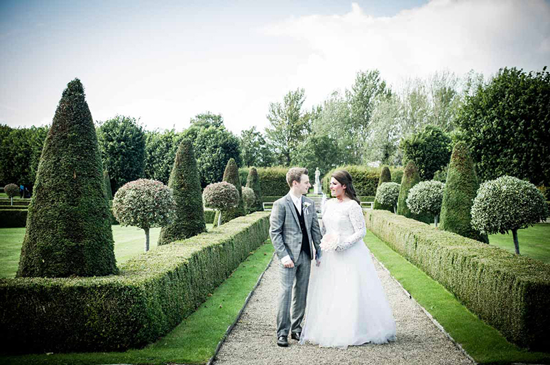 Wedding photograph in Imma Gardens