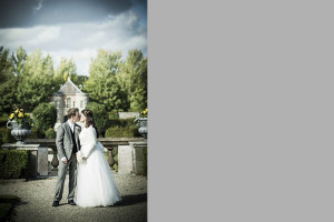 Wedding portrait in Imma Gardens
