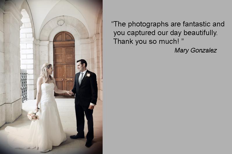 A Wedding Photograph in Dublin
