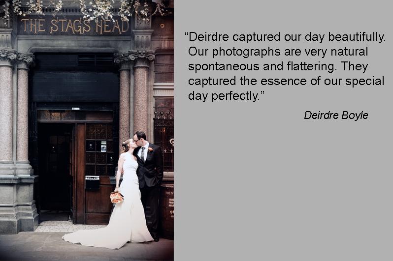 Dublin Wedding Photo