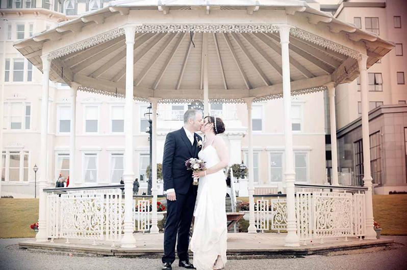 Marine Hotel Dun Laoghaire Wedding Photograph