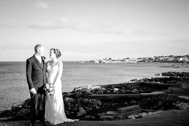 Wedding photograph in Dun Laoghaire