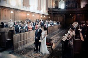 Trinity College Chapel Wedding Ceremon
