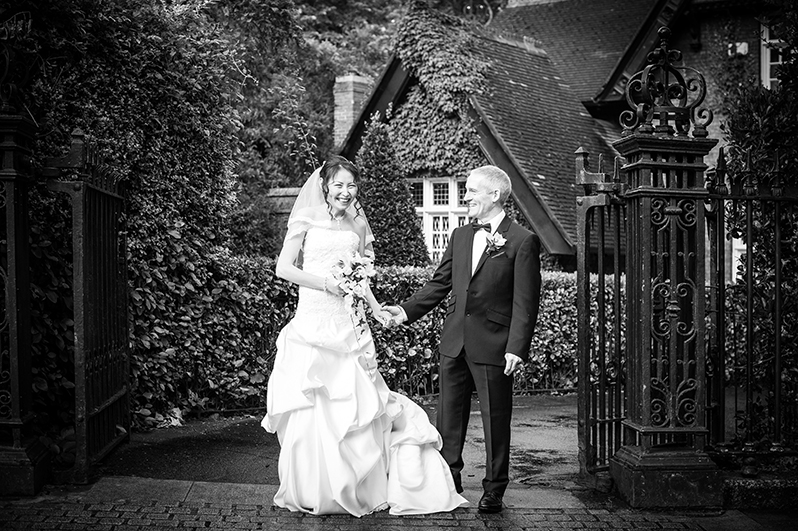 A St. Stephen Green Wedding Photograph