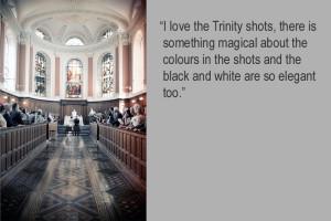 A Trinity College Wedding Photograph